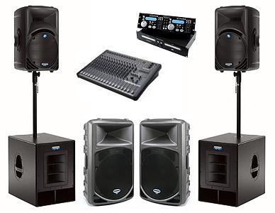 Professional Audio + DJ