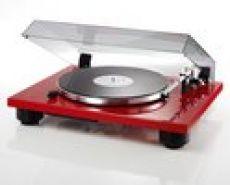 THORENS TD-206 Plattenspieler Rot Klavierlack