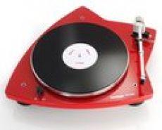 THORENS TD-209 Plattenspieler Rot Klavierlack