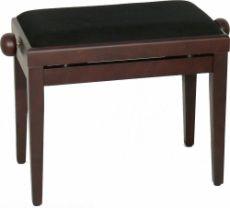 Burghardt B5 Klavierbank Rosenholz / Stoff