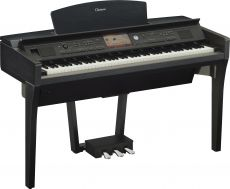 Yamaha CVP-709B Digital Piano Schwarz Matt (Demogerät neu)