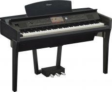Yamaha CVP-709PE Digital Piano Schwarz Hochglanz Poliert