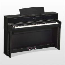Yamaha CLP-675PE Digital Piano Schwarz Hochglanz Poliert