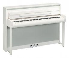Yamaha CLP-685PWH Digital Piano Weiss Hochglanz Poliert