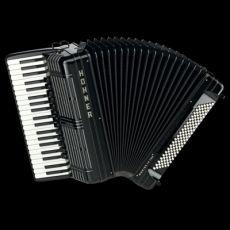 Hohner Morino Artiste IV 120  Button Key Akkordeon