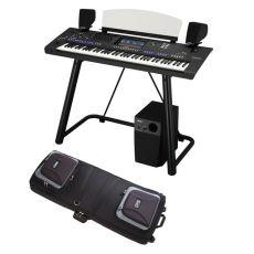 Yamaha GENOS XXXL Set Digital-Workstation (3 Jahre CH-Garantie) Boxen, Ständer und Tasche