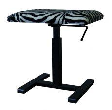 Burghardt B400H Wildlife Zebra Klavierhocker mit Liftomat