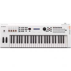 Yamaha MX49 WH Music Synthesizer Weiss
