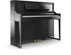 Roland LX706-PE Set Luxury Upright Piano Schwarz Hochglanz Poliert