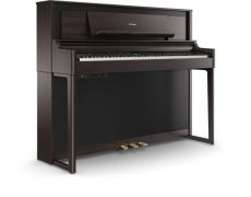 Roland LX706-DR Set Luxury Upright Piano Dark Rosewood