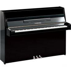 Yamaha b1 PEC Akustisches Klavier Schwarz Hochglanz Poliert Chrome