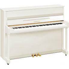 Yamaha b2 PWH Akustisches Piano Weiss Hochglanz Poliert