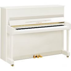 Yamaha P116 PWH Akustisches Piano Weiss Hochglanz Poliert