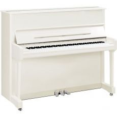 Yamaha P121 PWHC Akustisches Piano Weiss Hochglanz Poliert Chrome