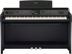 Yamaha Clavinova CVP-805PE Digital Piano Schwarz Hochglanz Poliert