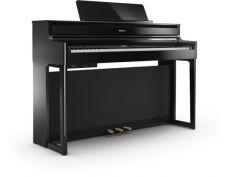 Roland HP704 PE Digital Piano Schwarz Hochglanz Poliert