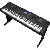 Yamaha DGX-660B Compact Digital Piano Schwarz