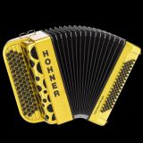 Hohner Fun Nova II 80 light Mulicolor Gold Glitter Akkordeon
