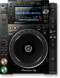 Pioneer CDJ-2000NXS2 DJ Digital Multiplayer Schwarz