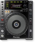 Pioneer CDJ-850-K DJ CD Player Schwarz
