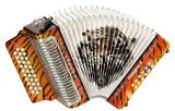 Hohner Corona II Los Tigres GCF orange Akkordeon
