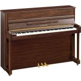 Yamaha b2 SC2 PW Silent Piano Nussbaum Dunkel Hochglanz Poliert