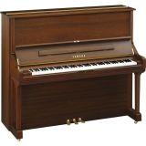 Yamaha U3 SH2 SAW Silent Piano Nussbaum Seidenmatt