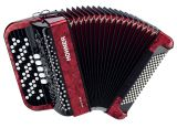 Hohner Nova III 96 Red Akkordeon Rot