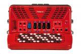 Roland FR-1xb-BK/RD V-AkkordeonSchwarz/Rot Button Typ